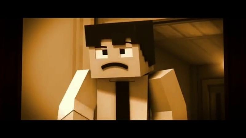 Песня Бенди и чернильная машина Build our machine Анимация MineCraft RUS