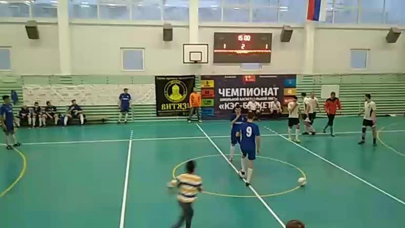 матч за третье место Помор - Космодром 16.12.18 2-й тайм