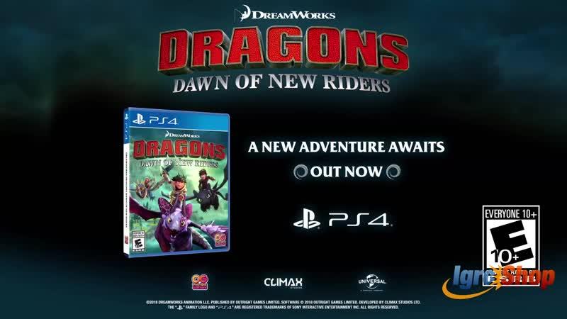 DreamWorks Dragons - Dawn of New Riders