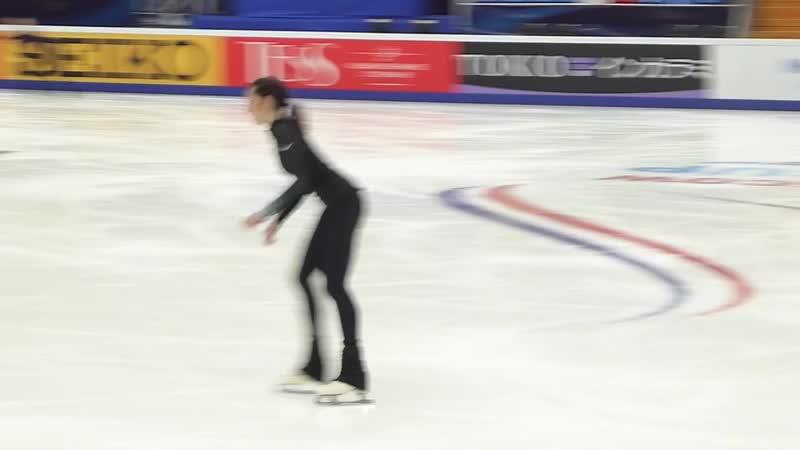 Polina Tsurskaya 15.11.2018 Rostelecom Cup run-through
