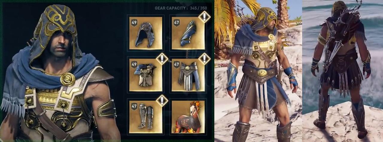 Набор легендарной брони Героя Афинской войны в Assassin's Creed Odyssey