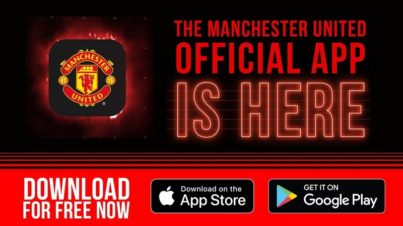 Manchester United Official App | Download for Free! | iOS Android