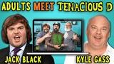 Adults React To And MEET Tenacious D (Jack BlackKyle Gass)