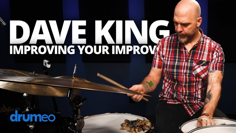 Dave King Improving Your Improv On The Drums