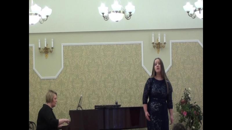 «Песня Ольги» (Как у нас на улице…) из оперы «Русалка», А.С. Даргомыжский, Перова Вероника, Каминская Дина