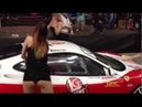Tuning sexy car wash show.