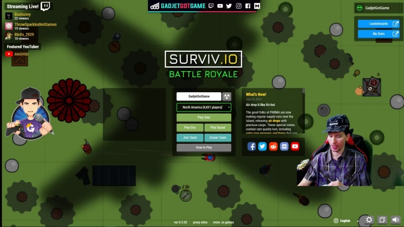 [ENG/ESP] Popping Off in Surviv.io ZombsRoyale.io