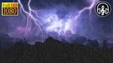 Шум Дождя с Громом и Молниями. 10 Часов Для Глубокого Сна и Релаксации