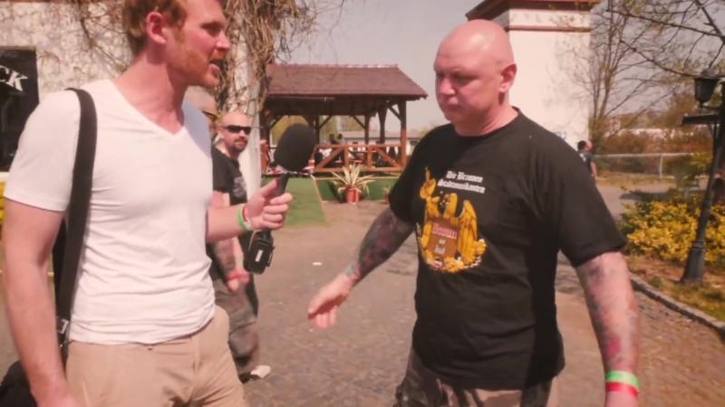 Der Volkslehrer beim Schild Schwert Festival in Ostritz TEIL 2
