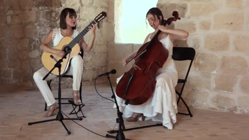 Paola Requena y Marta- SIERRA MARÍA