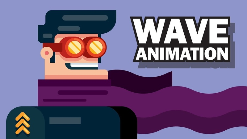 WAVE ANIMATION After Effects ( Hair, Smoke, Text Reveal, Liquid, Flag or Clothes )