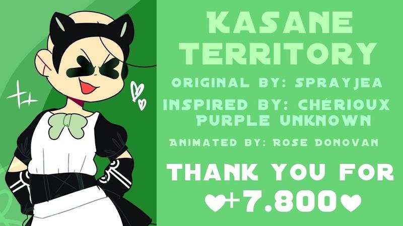 KASANE TERRITORY - Animation Meme [Baldis Basics X3] (7,800 Special❤)