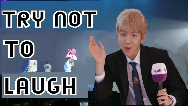EXO-TRY NOT TO LAUGH *NEW 2018 EDITION*