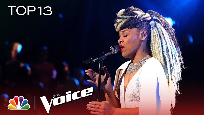 SandyRedd Sings It's So Hard to Say Goodbye to Yesterday The Voice 2018 Live Top 13 Performances
