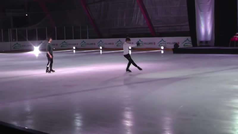 Villars on Ice 2016 From Rehearsal - Stéphane Deniss