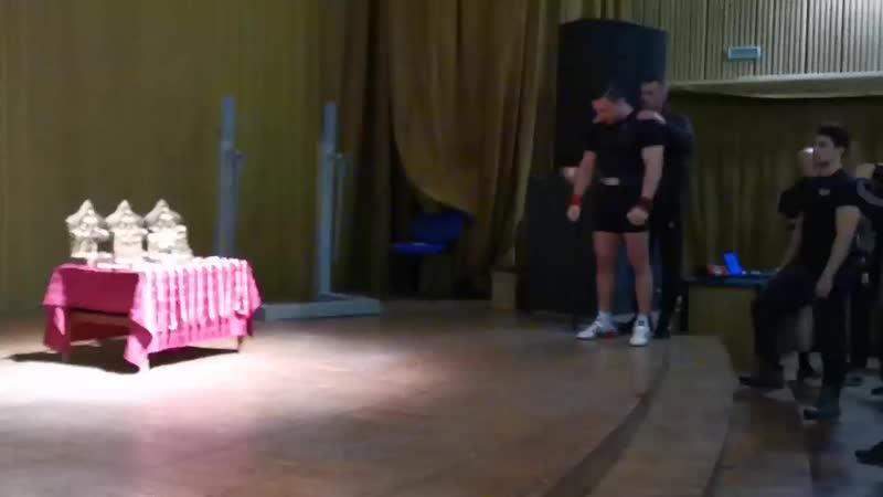 14 04 2019 Кубок Липецкой области по пауэрлифтингу и жиму лёжа Результат 215 кг до 90 кг 👍💪