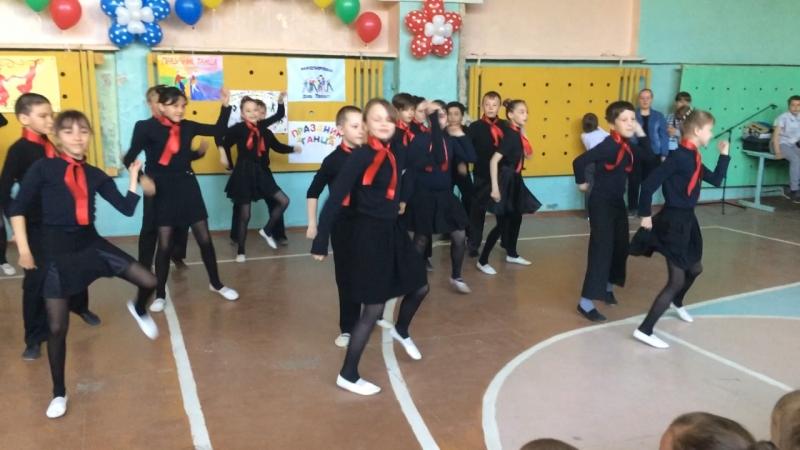 Праздник танца 4 А 2 место