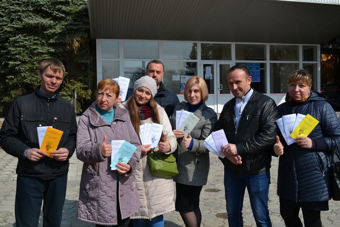 В Куйбышевском районе прошла акция «Стоп туберкулёз»