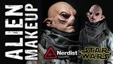 Starwars Alien Makeup Timelapse for Nerdist.