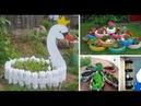 Ideias criativas com garrafas Pets em Hortas e jardins Parte 1