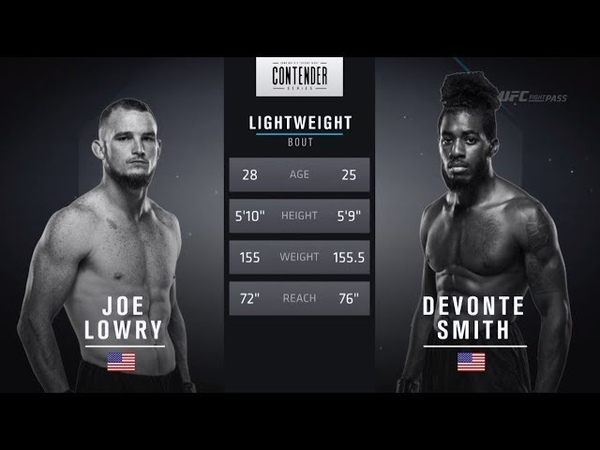 FREE FIGHT | Quick Elbows From Smith Secure Victory | DWTNCS Week 8 Contract Winner - Season 2
