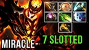 Miracle- Shadow Fiend WTF! FULL-SLOTTED Beast Aeon Disk Magic Build vs MinD_ContRoL Mid - Dota 2