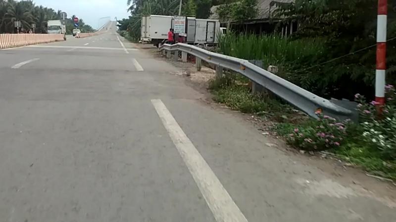 По дорогам в Дельте Меконга 2. Мост