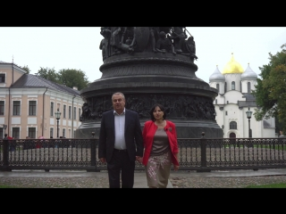 Валентина Захаркина и Юрий Степанов. Наша сила в Единстве.