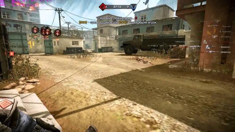 НайтВэй vs. Фалькон @Warface ТК2 Переулки 6х6 by leniniw