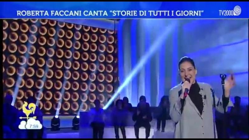 Roberta Faccani - Storie di tutti i giorni (Live 02.02.2018)