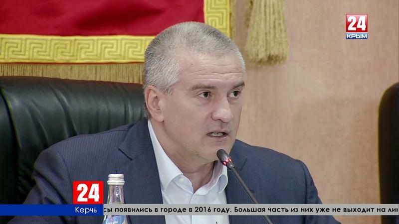 Заместитель главы администрации Керчи Мельгазиев «погорел» на новых автобусах