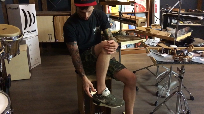 GUTHSCHMIDT - удобная перкуссия с креплением на ногу, Made in Germany 👌