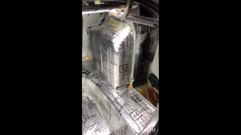 Поло седан (2018) багажное отделение