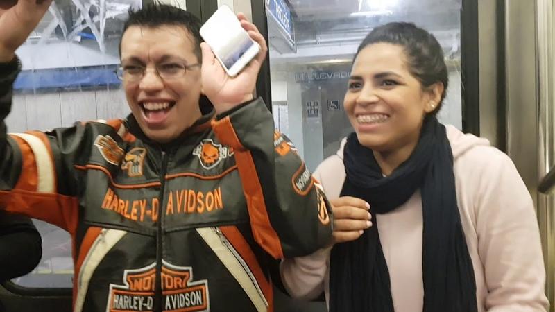 Vlog en el metro CDMX parte 2 - Pumpers fuera de la pump