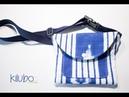 DIY: Canguro / Riñonera / Bolso para la cintura o Hip Bag con patrones gratis !