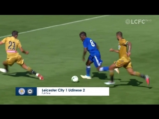 Leicester city 1-2 udinese