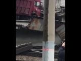 В Свободном рухнул автомобильный мост, соединяющий две части города.