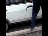Женщину сбили на высокой скорости | Остановка Лермантова | Тараз,Казахстан