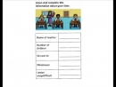 English for children. Cambridge YLE Flyers Speaking Practice pt2 - In My Class