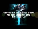 Corroded - King Of Nothing (lyric video)
