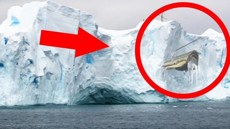 TOP 5 Zamrzlé věci nalezené na Antarktidě