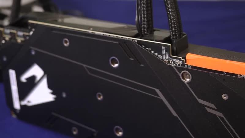 RTX 2080 Aorus Xtreme Waterforce - ГПУ с жидкостным охлаждением