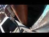 Ремонт передней стенки кузова ломовоза закончен