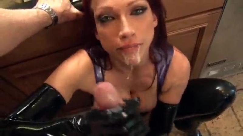 Latex fetish sex video