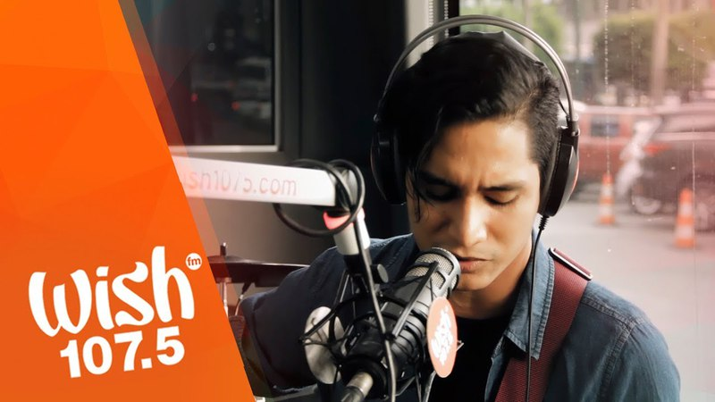 Ethan Loukas performs Dance With Me LIVE on Wish 107.5 Bus