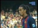Ronaldinho_Goals_for_Barcelona 15 Ronaldinho Santander 03 04