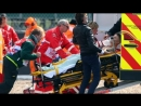 Silverstone MotoGP- Crash.Tito Rabat Franco Morbidelli Crash in FP4 on BritishGP