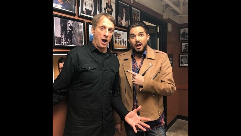 Adam Lambert : at NPR's Ask Me Another ,San Diego, California 2018-12-12