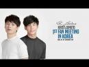 [FSG Libertas] Krist & Singto Fan Meeting in Korea  Крист и Сингто фанмит в Корее [рус.саб]