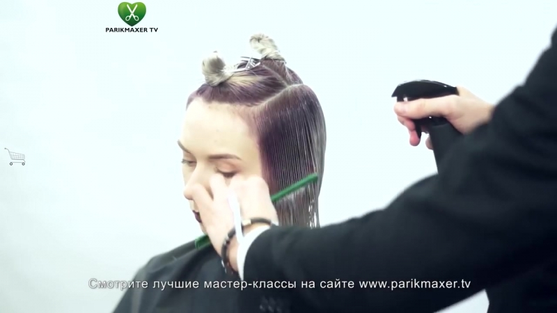 Текстурированная форма на второй длине. Вячеслав Балацкий. Парикмахер тв